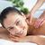 felice · bruna · massaggio · fuori · spa - foto d'archivio © wavebreak_media