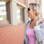 Happy mature woman walking with her shopping purchases stock photo © wavebreak_media