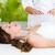 calme · femme · reiki · traitement · peau - photo stock © wavebreak_media
