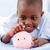mosolyog · fiú · tart · rózsaszín · disznó · pénz - stock fotó © wavebreak_media