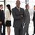 ビジネスマン · 見える · カメラ · グループ · 深刻 · オフィス - ストックフォト © wavebreak_media