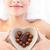 parlak · kadın · çanak · biçim · kalp - stok fotoğraf © wavebreak_media