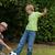 abuelo · nietos · jugando · balón · de · fútbol · junto · familia · feliz - foto stock © wavebreak_media