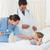 médicos · examinar · paciente · cama · hospital · mujer - foto stock © wavebreak_media