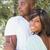 happy couple hugging each other in garden stock photo © wavebreak_media