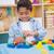 weinig · jongen · spelen · blokken · vergadering · kleurrijk - stockfoto © wavebreak_media
