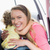Mutter · Baby · Auto · Sitz · Familie · Mädchen - stock foto © wavebreak_media