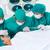 sebészek · beteg · asztal · kórház · férfi · egészség - stock fotó © wavebreak_media
