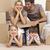 Familie · Umzug · spielen · Boxen · glückliche · Familie · Frau - stock foto © wavebreak_media