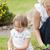 doce · menina · jardim · ferramenta · sessão · mãe - foto stock © wavebreak_media