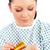 malati · donna · pillole · vetro - foto d'archivio © wavebreak_media