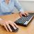 mujer · de · negocios · manos · ratón · teclado · oficina - foto stock © wavebreak_media