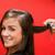 gülümseyen · kadın · saç · mutlu · moda · çalışmak - stok fotoğraf © wavebreak_media