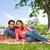 dos · amigos · mirando · adelante · mantener · gafas - foto stock © wavebreak_media