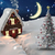 composite image of christmas tree and house stock photo © wavebreak_media