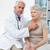 orvos · szívdobbanás · kórház · szoba · nő · kéz - stock fotó © wavebreak_media