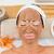 sorridente · morena · lama · tratamento · mulher - foto stock © wavebreak_media