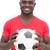 portrait of a smiling handsome football fan stock photo © wavebreak_media