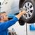 szerelő · autógumi · kerék · javítás · garázs · szolgáltatás - stock fotó © wavebreak_media