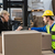 warehouse worker and manager using tablet pc stock photo © wavebreak_media