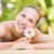 feminino · massagista · de · volta · estância · termal · centro - foto stock © wavebreak_media