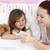moeder · temperatuur · bed · vrouw · kind - stockfoto © wavebreak_media