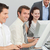 gens · d'affaires · ordinateurs · professionnels · bureau · ordinateur - photo stock © wavebreak_media