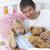 criança · médico · jogar · ursinho · de · pelúcia · bebê · médico - foto stock © wavebreak_media