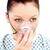 femenino · paciente · máscara · de · oxigeno · blanco · mujer · médicos - foto stock © wavebreak_media