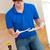 concentrado · moço · leitura · instruções · mobiliário · cozinha - foto stock © wavebreak_media