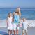 radosny · rodziny · spaceru · plaży · niebo · dziewczyna - zdjęcia stock © wavebreak_media