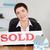 sprzedany · płyta · domów · biuro · domu - zdjęcia stock © wavebreak_media