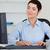 sevimli · işkadını · yazarak · bilgisayar · ofis · kadın - stok fotoğraf © wavebreak_media