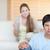 Upset couple arguing in their living room stock photo © wavebreak_media
