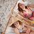 oturma · güverte · sandalye · plaj · gülme - stok fotoğraf © wavebreak_media