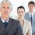reifen · Manager · stehen · ernst · Team · Büro - stock foto © wavebreak_media
