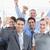 pessoas · de · negócios · escritório · sorridente · mulher · homem - foto stock © wavebreak_media