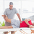 Physiotherapist doing leg massage to his patient stock photo © wavebreak_media
