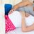 zachwycony · kobieta · w · ciąży · bed · mąż - zdjęcia stock © wavebreak_media
