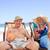 érett · pár · átkarol · promenád · tengerpart · boldog - stock fotó © wavebreak_media