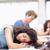 Studenten · schlafen · Schreibtisch · Klassenzimmer · Frau · Hand - stock foto © wavebreak_media