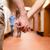 , · держась · за · руки · коридор · стороны · человека · счастливым - Сток-фото © wavebreak_media