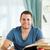 glimlachend · mannelijke · student · gelukkig · vooruitgang · papier - stockfoto © wavebreak_media