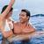 man · vriendin · zwembad · water - stockfoto © wavebreak_media