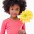 portret · dziewczyna · kwiat · biały · twarz - zdjęcia stock © wavebreak_media