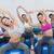 逆立ち · 女性 · トレーニング · ジム · 少女 - ストックフォト © wavebreak_media