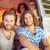amis · route · voyage · voiture · heureux - photo stock © wavebreak_media