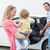 parents carrying baby and her car seat stock photo © wavebreak_media