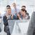 businesswoman doing speech during meeting stock photo © wavebreak_media