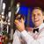handsome barman smiling at camera making a cocktail stock photo © wavebreak_media